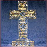 Engraved Cross