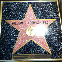 Engraved Hollywood Star