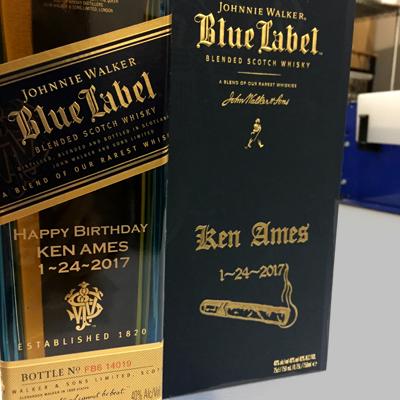 Engraved Spirit & Alcohol Bottles