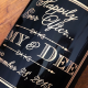 Engraved Wine and Engraved Champagne