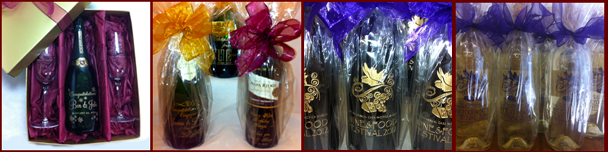 gift packaged wine
