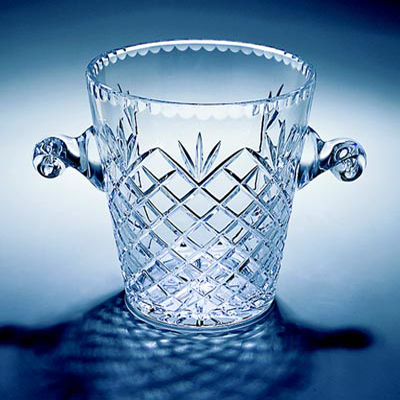 Lead Crystal Champagne & Wine Cooler