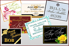 Custom Labels - Birthday