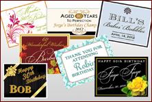 Custom Labels - Birthday