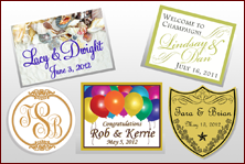 Custom Labels - Wedding